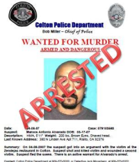 Marcos Antonio Alvarado - Arrested